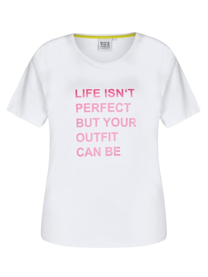 Shirt mit Statementdruck