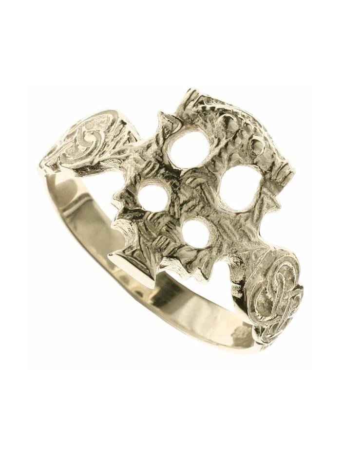 OSTSEE-SCHMUCK Ring - Hiddensee - Silber 925/000, vergoldet - ,, goldfarben-gelb