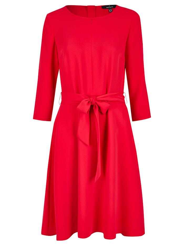 Daniel Hechter Modernes Kleid mit Schleife, red