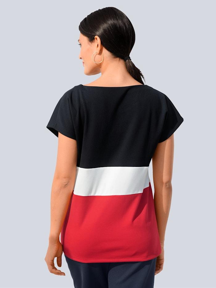 Shirt im angesagten Colourblock-Dessin