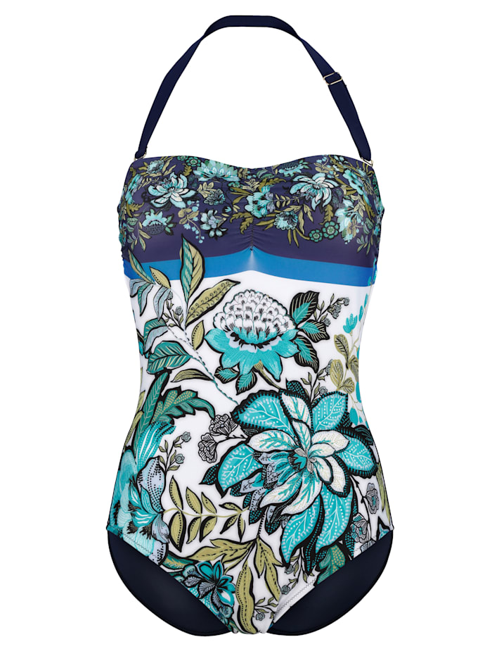 Swimsuit with detachable straps