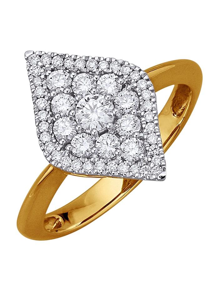 Diemer Diamant Ring med briljanter, Hvit