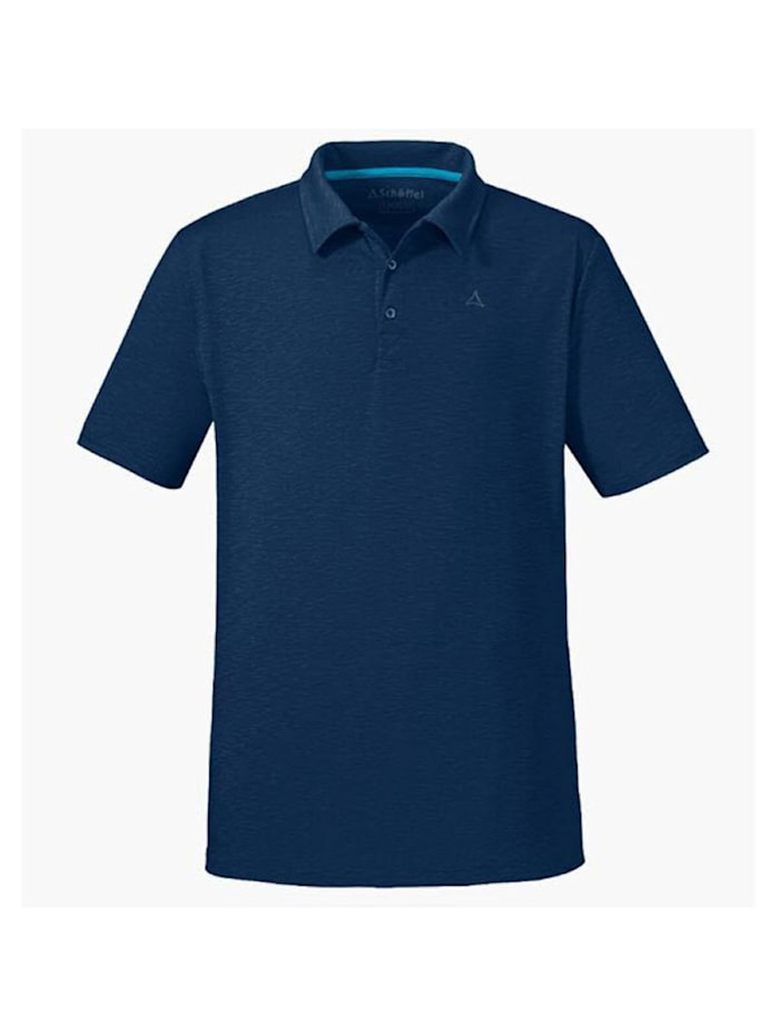 Schöffel Schöffel Shirt Polo Shirt Izmir1, Blau