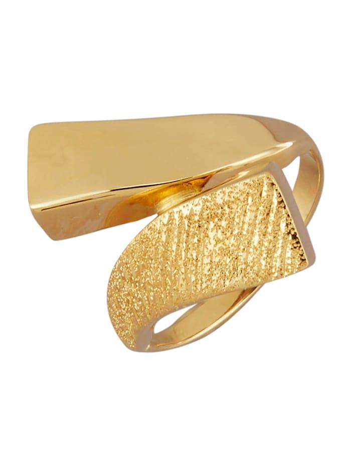 AMY VERMONT Damenring in Gelbgold 375, Gelbgoldfarben