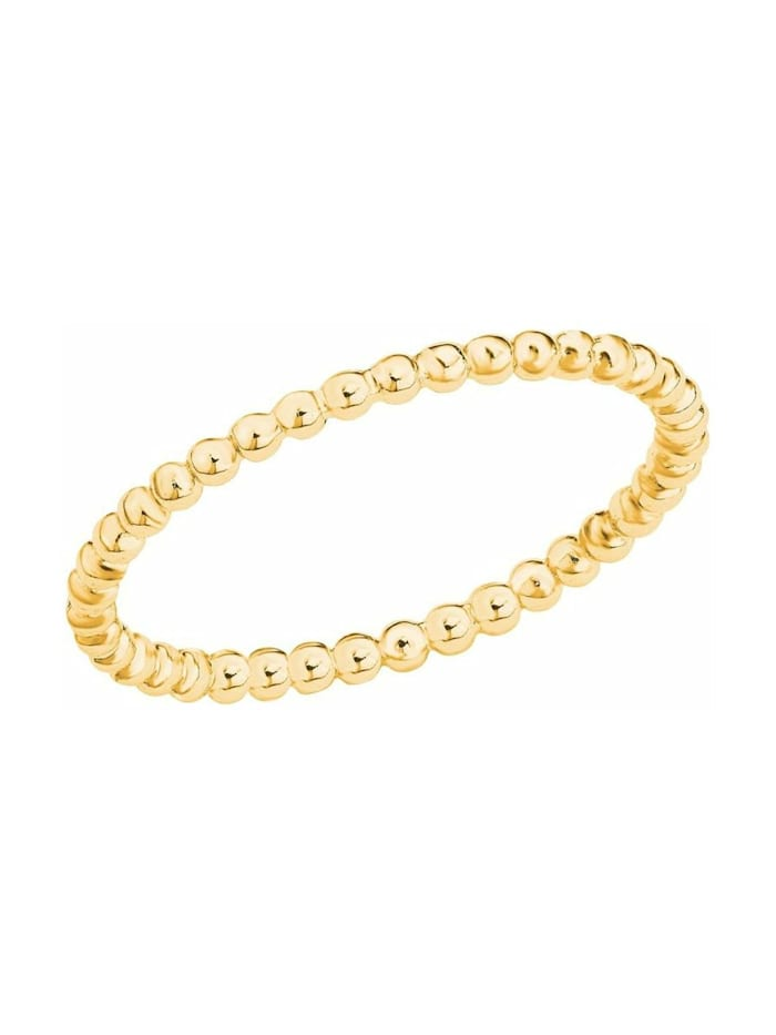 s.Oliver Ring für Damen, Sterling Silber 925, Gold
