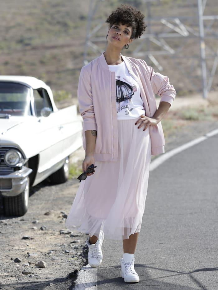 Angel of Style Shirt mit Printmotiv, Weiß