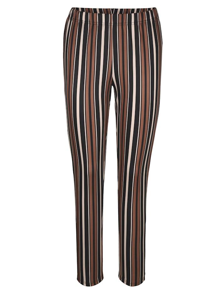 Jerseybukse med stripemønster