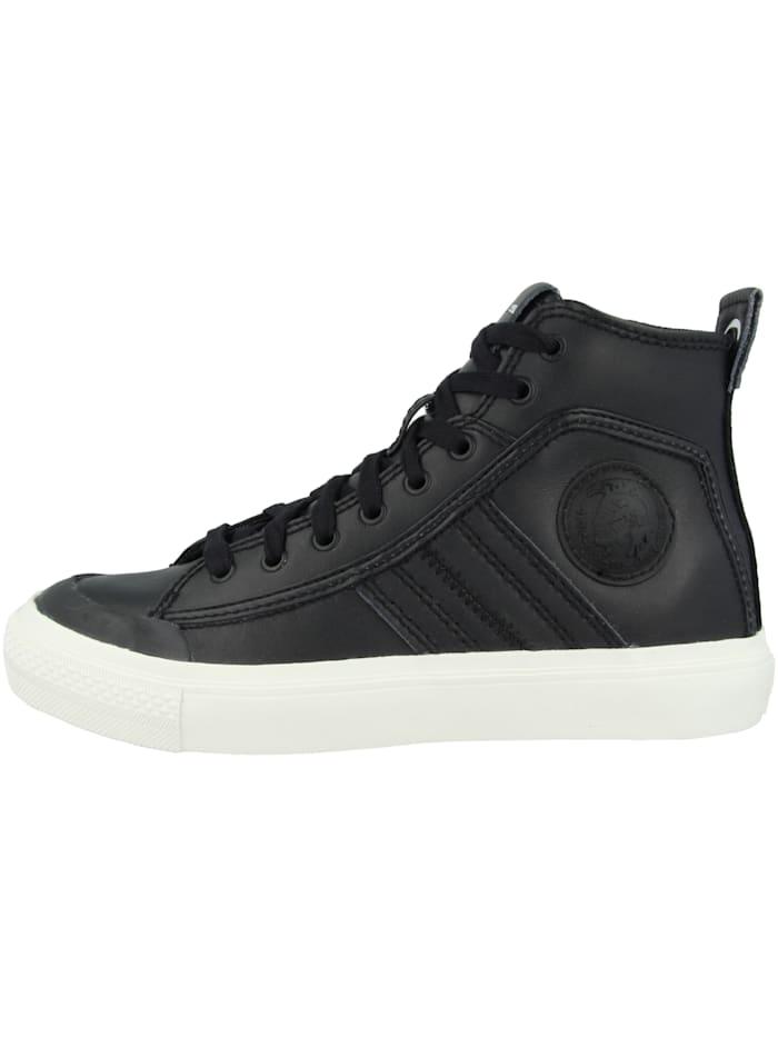 Diesel Sneaker mid S-Astico Mid Lace, schwarz