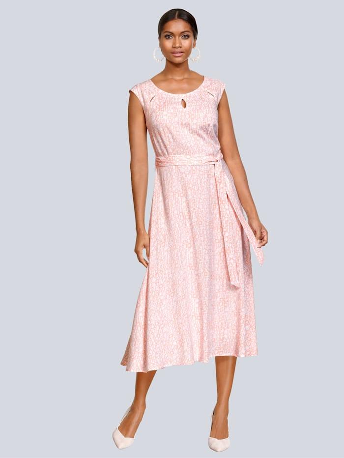 Kleid mit modischen Cut-Outs