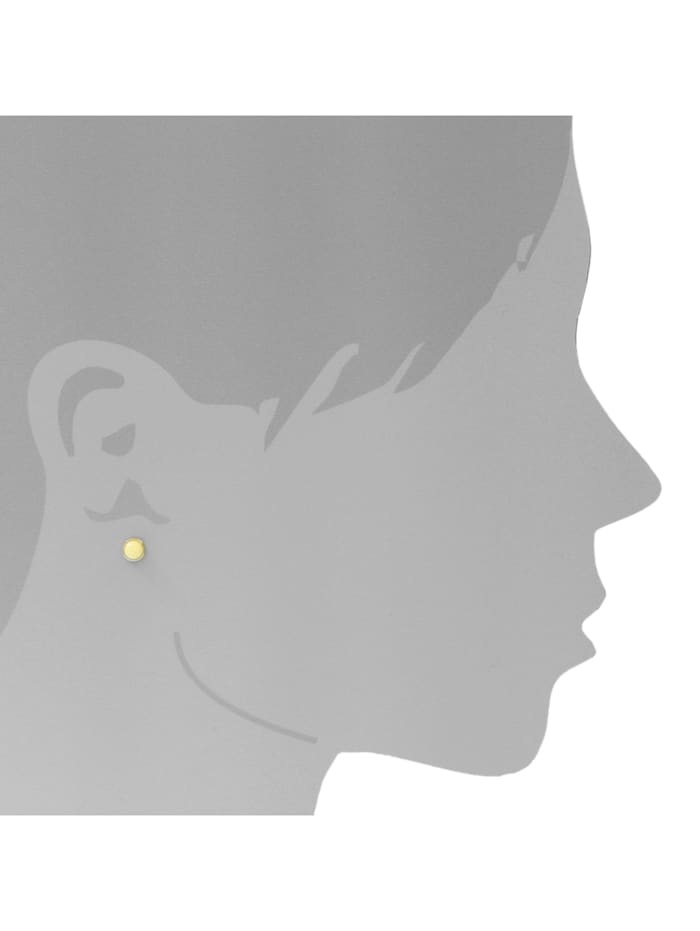 Ohrstecker - Classic 5 mm - Gold 585/000 -