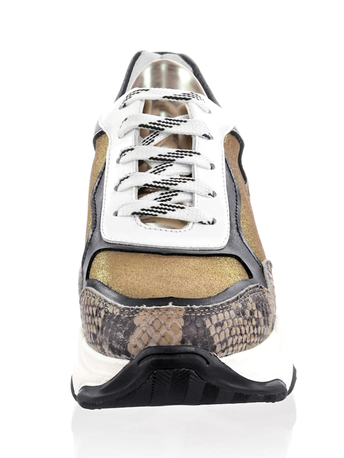 Sneaker mit Chunky-Sohle