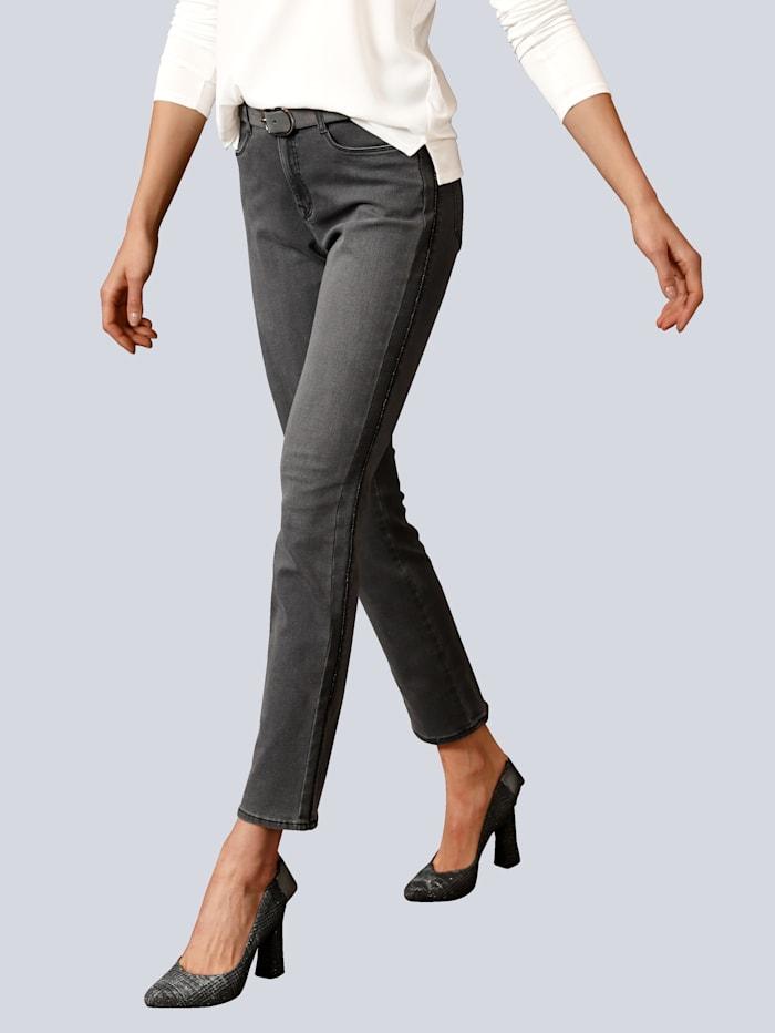 BRAX Jeans 'Carola' in femininer Silhouette, Grau