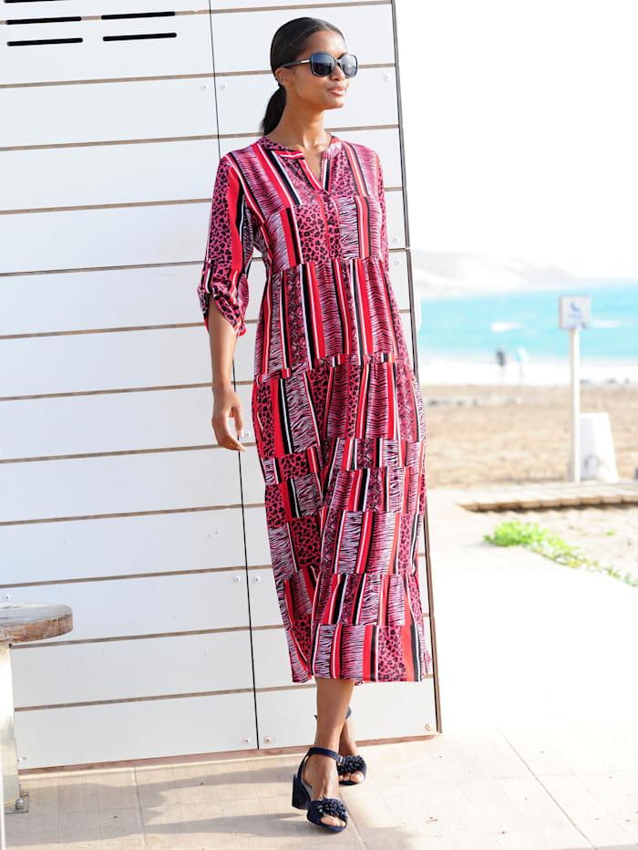 Strandkleid in Streifenoptik