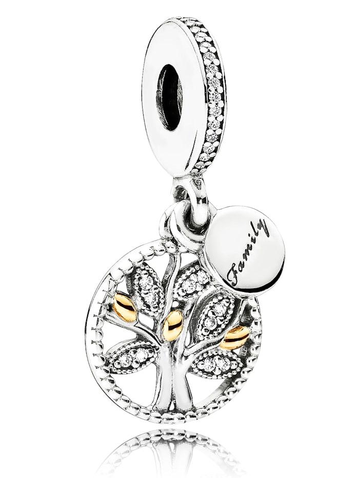 Pandora Charm-Anhänger-Familienstammbaum 791728CZ, Silberfarben