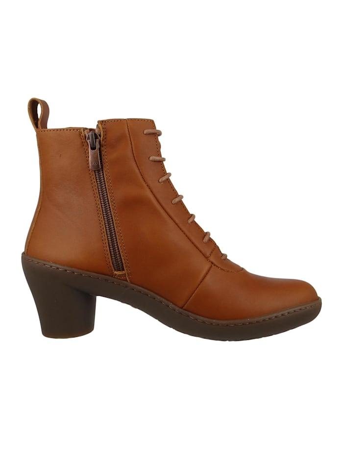 Leder Stiefelette Ankle Boot Alfma Cuero Braun 1444