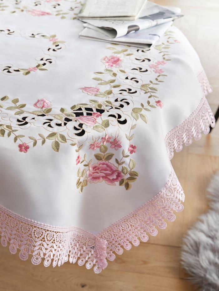 Webschatz Linge de table'Rosalinde', Rose