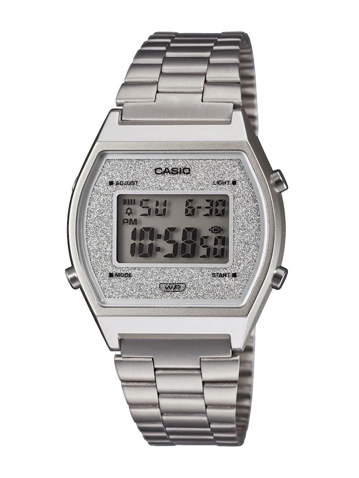 Casio Unisex-Uhr Chronograph, Silberfarben