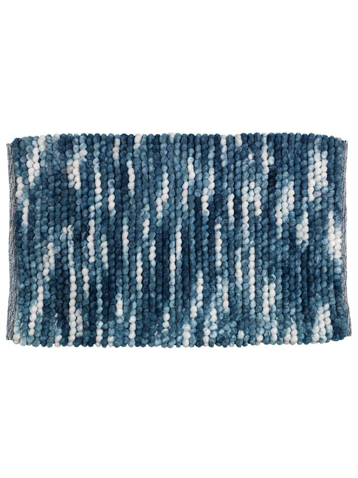 Wenko Badteppich Urdu Blau, 60 x 90 cm, Blau