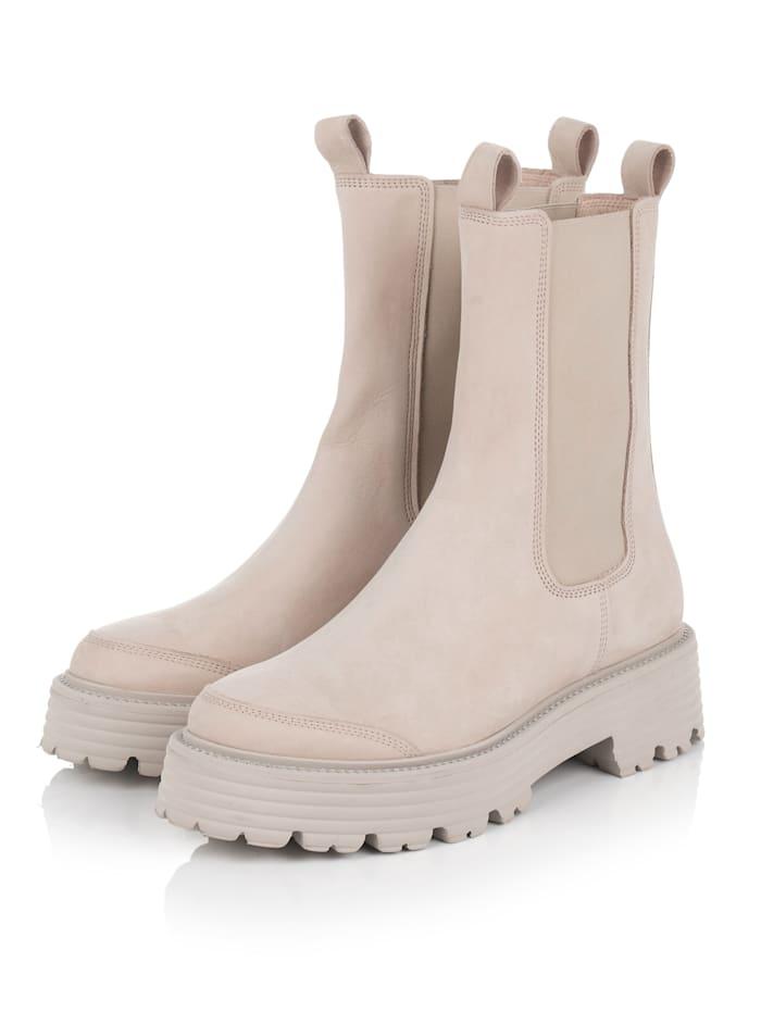 Kennel & Schmenger Boots, Creme-Weiß
