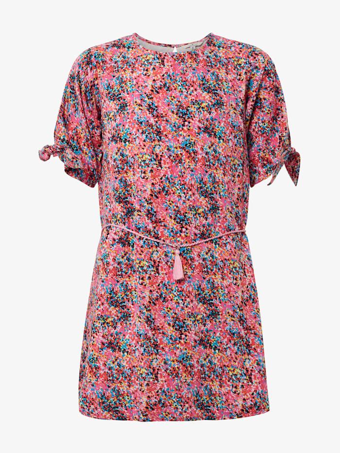 Tom Tailor Gemustertes Kleid, shocking pink|pink