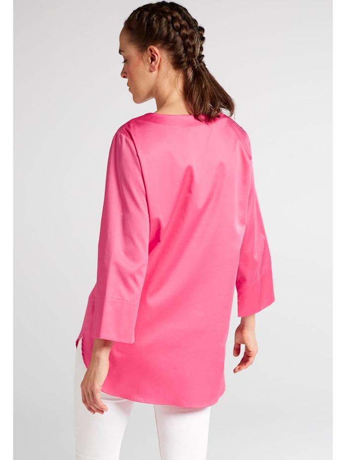 Eterna Dreiviertelarm Bluse für grosse Frauen MODERN CLASSIC
