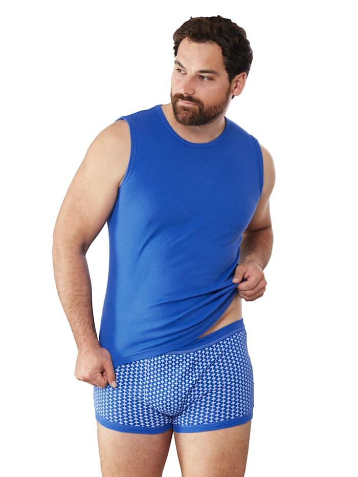 Mouwloos shirt, Royal blue