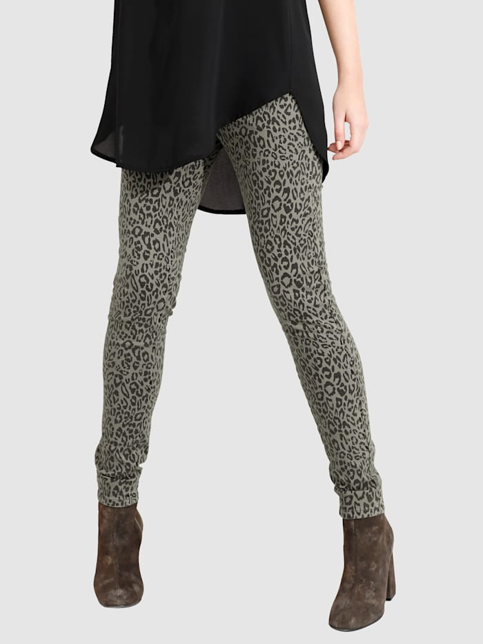 Jeans met animalprint