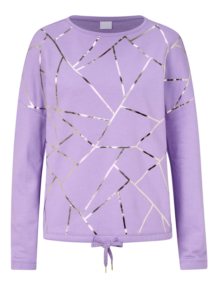REKEN MAAR Sweatshirt, Lavendel