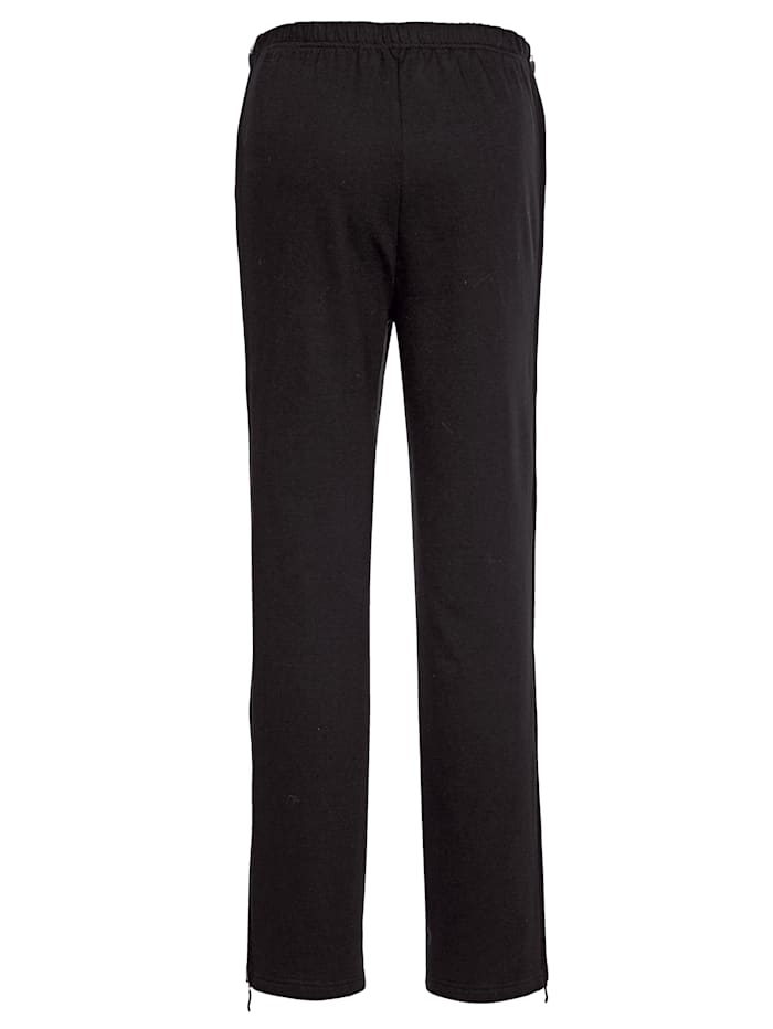 Joggers, with zip detailing on the side