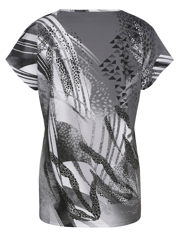 Shirt mit platziertem, grafischem Druckdesign