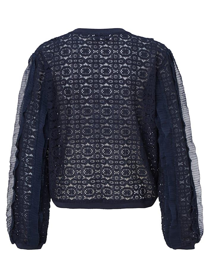 Spitzensweatshirt