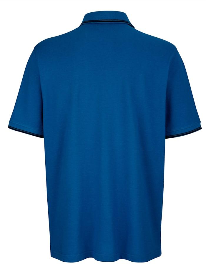 Poloshirt met borduursels voor