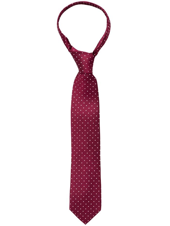 Eterna Eterna Krawatte breit, bordeaux