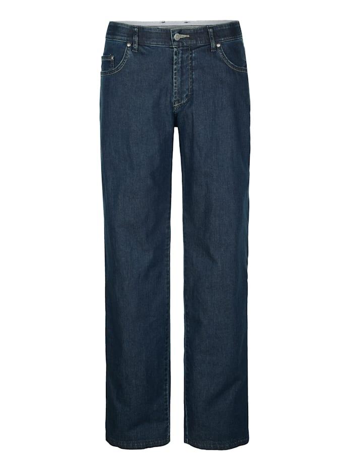 Jeans med reflexband