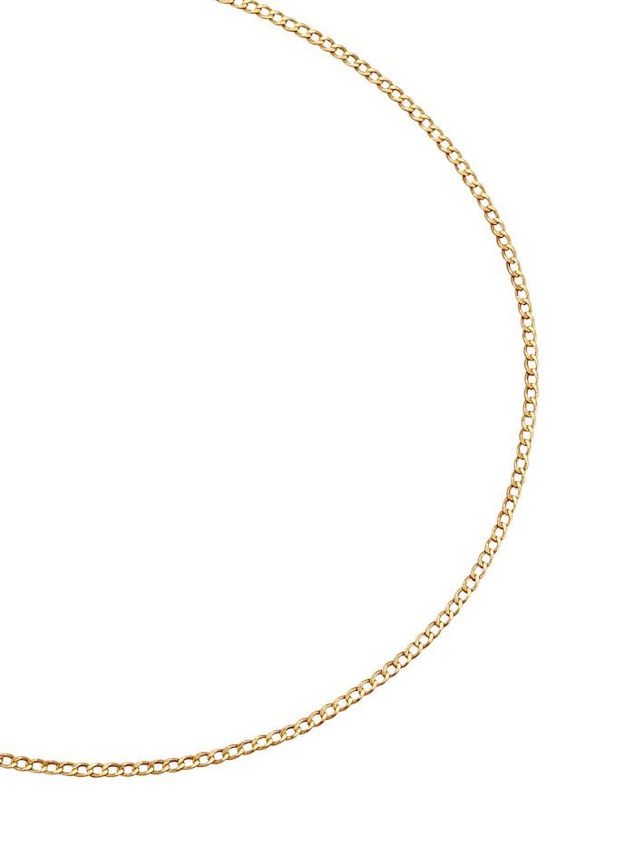 Chaîne maille chenille en or jaune, Coloris or jaune