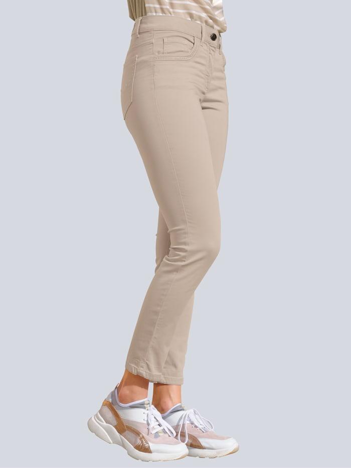 Alba Moda Hose aus elastischer Qualität, Beige