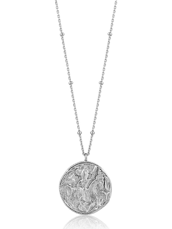 Ania Haie Ania Haie Damen-Kette Greek Warior Necklace 925er Silber, silber