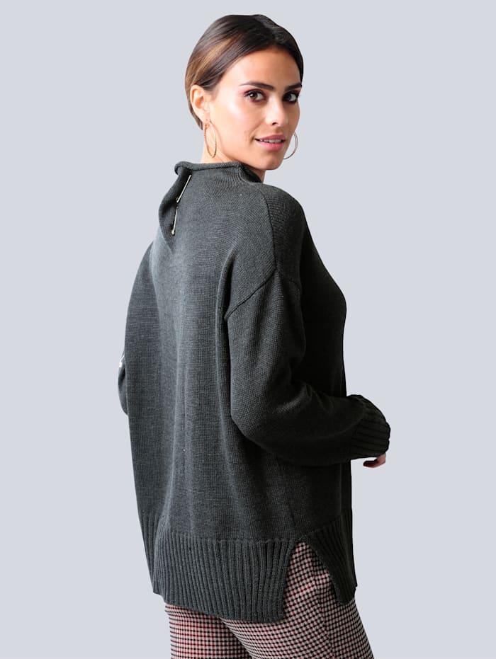 Pullover in reduzierter Oversized-Form