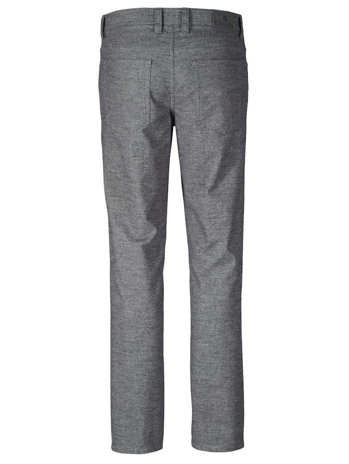 Pantalon d'aspect laine bicolore