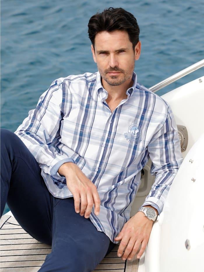 Hemd mit Button-Down-Kragen