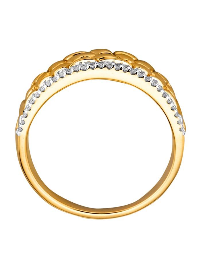 Damenring mit 29 Diamanten