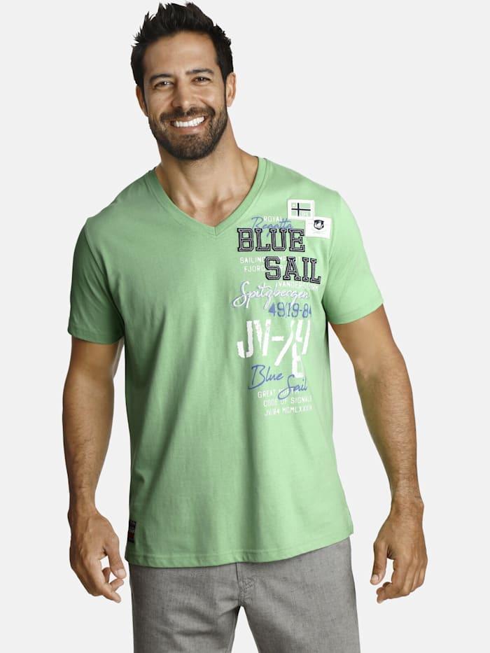 Jan Vanderstorm Jan Vanderstorm T-Shirt KOLBJORN, grün