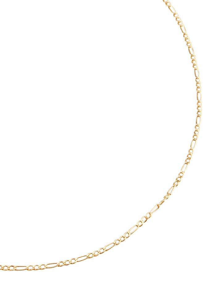 Figaropanzerkette in Gelbgold, Gelbgoldfarben