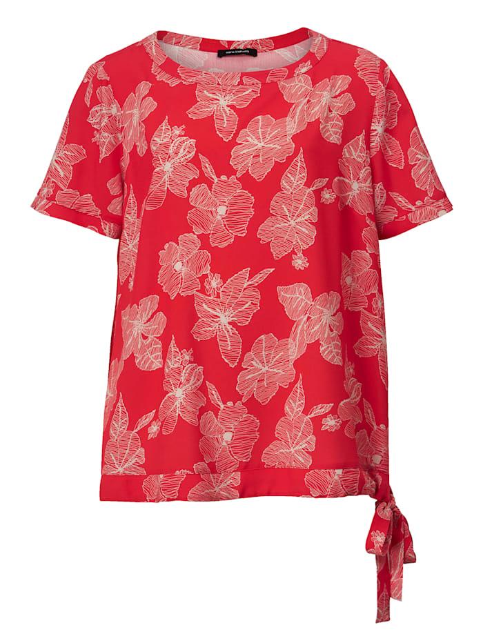 Kukkakuvioitu pusero