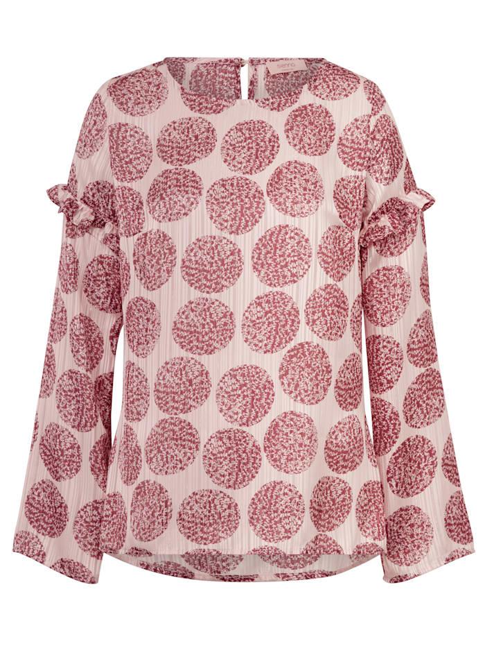 SIENNA Bluse mit Rüschen, Multicolor