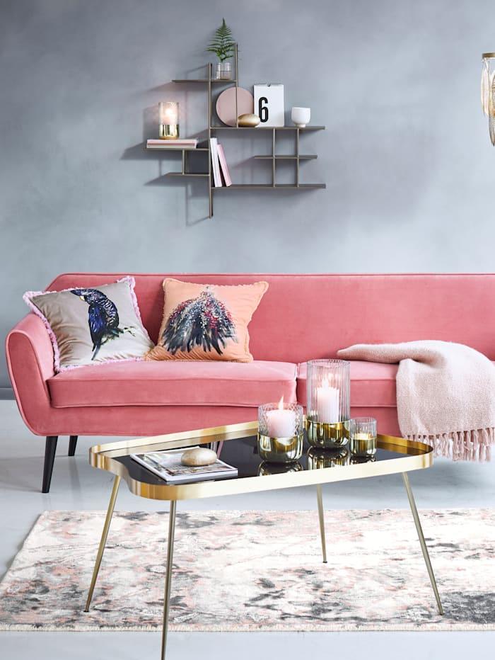 woood Sofa, rosa