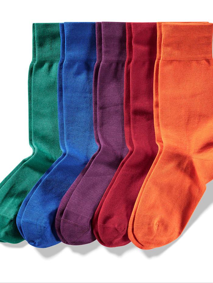 Sokken in frisse kleuren