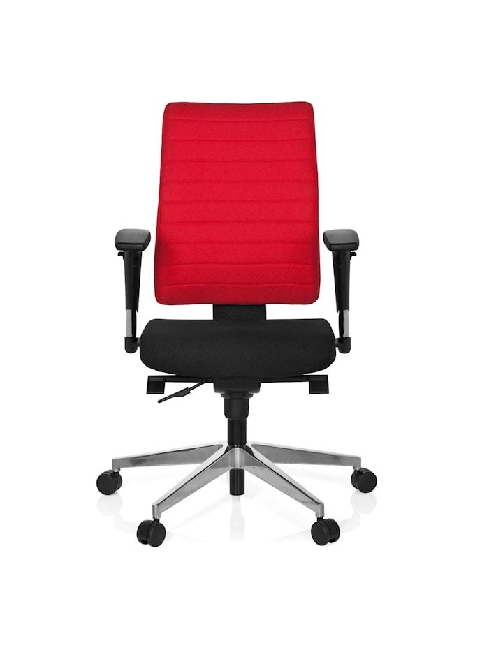 hjh OFFICE Profi Bürostuhl PRO-TEC 350, Schwarz / Rot