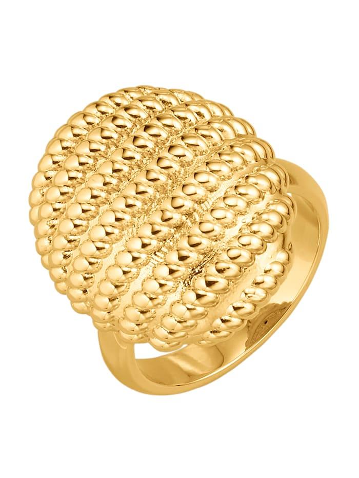 Diemer Gold Damesring van 18 kt. goud, Geelgoudkleur