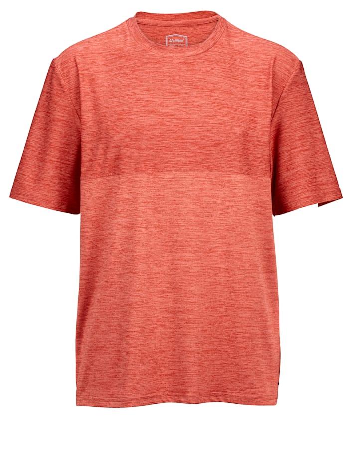 Killtec T-shirt van sneldrogend materiaal, Oranje